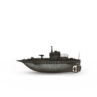 海上<font class='myIsRed'>船</font>只3d模型