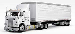 3d貨車模型