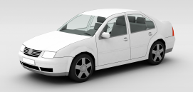 3d大众<font class='myIsRed'>汽车</font>模型