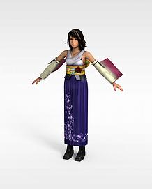 3d<font class='myIsRed'>游戏</font>女人模型
