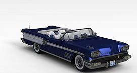 玩具老爷车3d模型