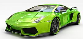 3d跑车模型