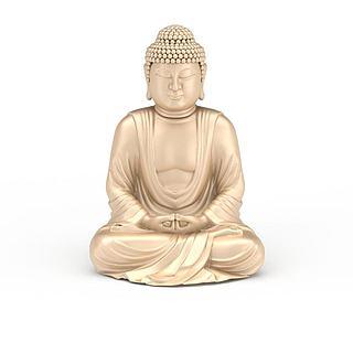佛像艺术品3d模型