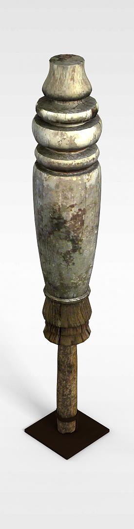 旧柱子模型