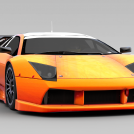 豪华跑车模型