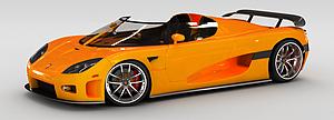 3d超级<font class='myIsRed'>跑车</font>模型