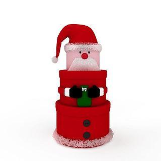 <font class='myIsRed'>圣诞</font>老人装饰物品3d模型