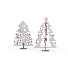 抽象的圣诞树3D模型3d模型