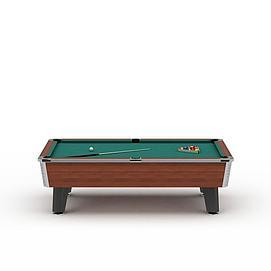 台球桌子3d模型