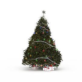 超高精细<font class='myIsRed'>圣诞树</font>3d模型