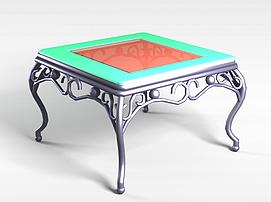 3d方桌模型