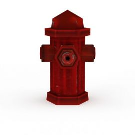室外消火栓3d模型