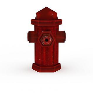 室外消火栓3d模型3d模型