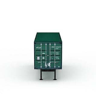 货箱3d模型