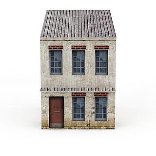 现在建筑3d模型