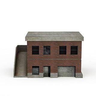 现代建筑风格3d模型