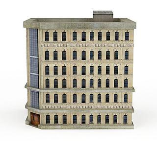 简欧风格建筑3d模型