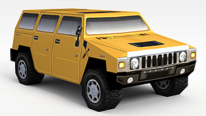 3dsuv汽車模型