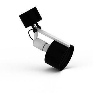 led轨道灯3d模型