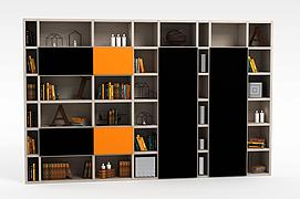 大书柜3d模型