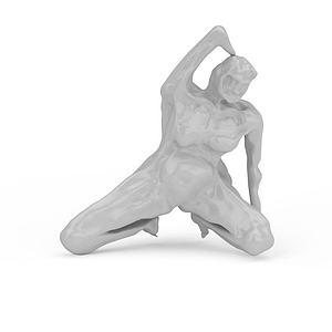 3d<font class='myIsRed'>人体</font>雕塑模型