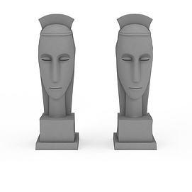 装饰<font class='myIsRed'>雕塑</font>3d模型