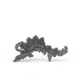 欧式雕花3d模型