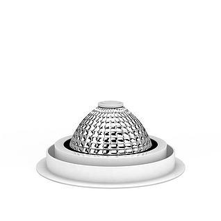 射灯3d模型