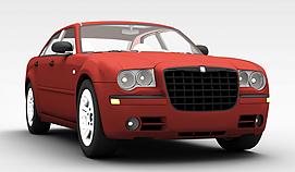克莱斯勒<font class='myIsRed'>汽车</font>3d模型