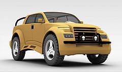 jeep车模型3d模型