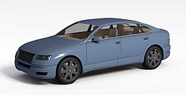 3d家用<font class='myIsRed'>汽车</font>模型