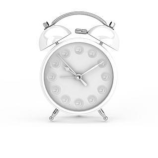 复古创意闹钟3d模型图片