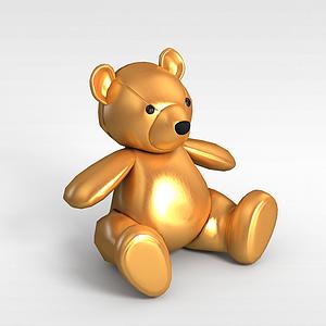 玩具熊模型3d模型