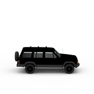 吉普车3d模型3d模型