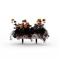 装饰花篮3D模型3d模型