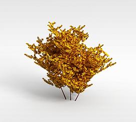 园林绿化灌木模型