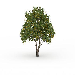 桔子<font class='myIsRed'>树</font>3d模型
