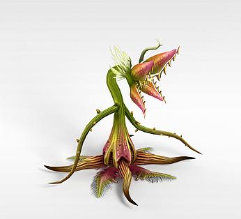 游戏元素植物花