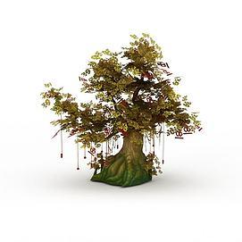 许愿<font class='myIsRed'>树</font>3d模型