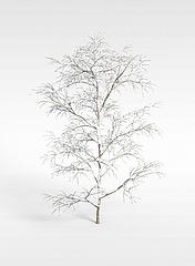 树挂模型3d模型