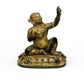 铜像3d模型
