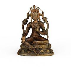 古代铜像模型3d模型