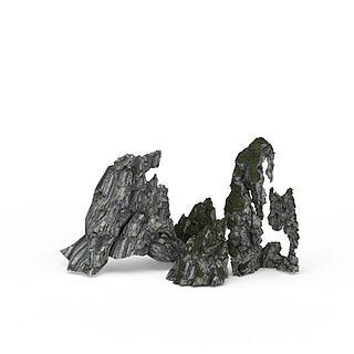 观赏<font class='myIsRed'>石头</font>3d模型