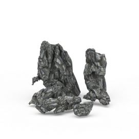 3d公园<font class='myIsRed'>石头</font>模型