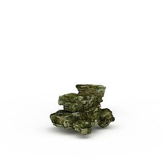 景观<font class='myIsRed'>石头</font>3d模型