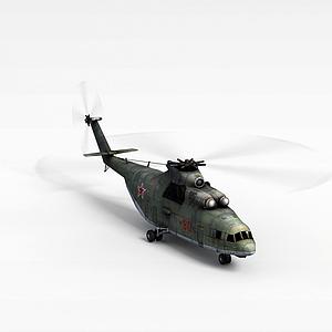 3d<font class='myIsRed'>直升機</font>模型