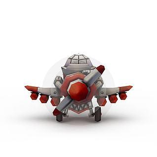 飞船3d模型