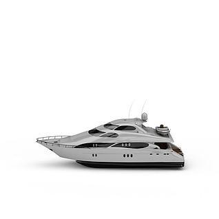 游轮3d模型