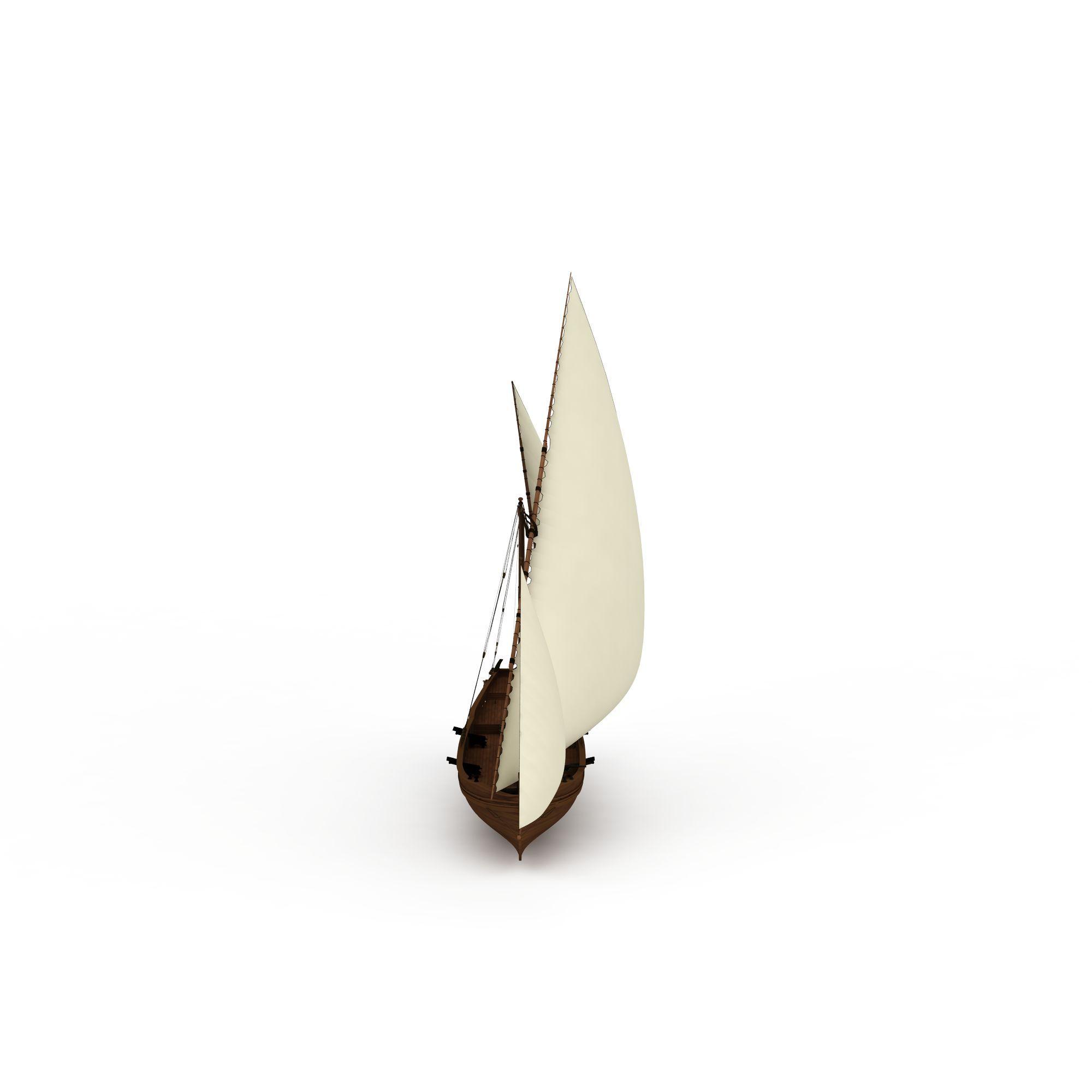 交通工具 船 小帆船3d模型 小帆船png高清图  小帆船高清图详情 设计