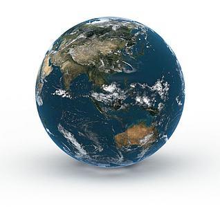 科研地球3d模型